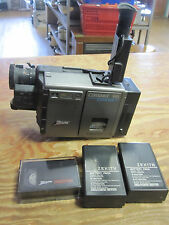 Vintage Zenith Video Movie Camera Compact VHS-C VM6200  with Hard Case