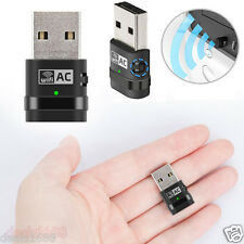 Mini AC600 Doubla Bande WiFi sans fil n Adaptateur USB Dongle 802. 11 a/b/g/n