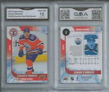 2015-16 UD CONNOR MCDAVID ROOKIE CARD #CAN6 GEM MINT 10  OILERS UPPER DECK