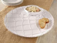 Mud Pie Classic Crab Collection Chip Dip Serving Plate Bowl Party Dish 4181003