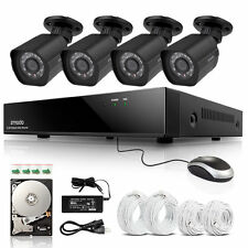 Zmodo 8CH 1080p HDMI NVR IP Network PoE 4 2.0MP Home Security Camera System 1TB