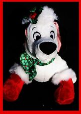 DISNEY STORE W TAG LUCKY HOLLY CHRISTMAS 101 DALMATIAN DOG PLUSH SOFT DOLL