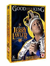 WWE It's Good To Be The King - The Jerry Lawler Story 3er [DVD] NEU