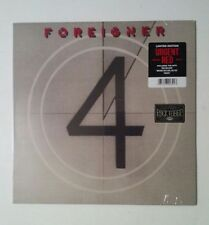 "Foreigner ""4"" LTD Edition Red Colored Vinyl LP New!"