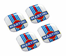 4 Autocollants Auto Voiture Moto Martini Racing Rally Sponsor Sticker Lancia GP
