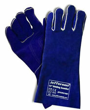 "Jefferson 16"" Premium Welding Gauntlets - Blue"