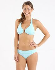 MELISSA ODABASH BRUSSELS TURQUOISE  BIKINI SWIMSUIT SET SIZE I 40 D 34 UK 8 US 4