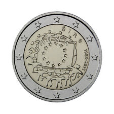 "Ireland 2 Euro commemorative coin 2015 ""30 Years of EU Flag"" UNC"
