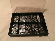 Box of 700pcs Assorted A2-70 Stainless Steel,Nuts,Flat, Repair, Mudguard Washers