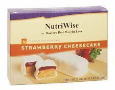 NutriWise - Strawberry Cheesecake Diet Protein Bars (7 bars) Ideal Weight Loss