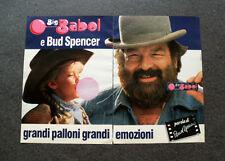 I436-Advertising Pubblicità- 1989 - BIG BABOL E BUD SPENCER