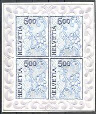 ZW - Zwitserland 1726 Block St. Galler Stickerei ** postfris