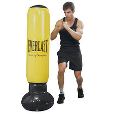 NEW EVERLAST POWER TOWER INFLATABLE PUNCHING BOXING BAG PUNCH WORKOUT PVC