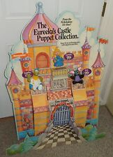 NICKELODEON EUREEKA'S CASTLE HAND PUPPET TOYS SET DISPLAY & POSTER PIZZA HUT
