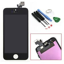 Black For iPhone 5 5G LCD Display Touch Screen Digitizer Assembly Repair 6 Tools