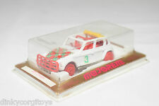 MAJORETTE 231 CITROEN DYANE RALLY CROSS WHITE MINT BOXED RARE