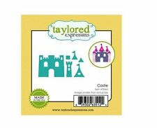 Taylored Expressions Little Bits Die(s) Set~ CASTLE Princess, Fairy Tales ~TE665