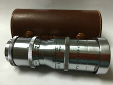 "WOLLENSAK RAPTAR 3"" 76mm F2.8 CINE TELEPHOTO LENS W/CASE"