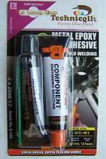 1 x EPOXY ADHESIVE GLUE FOR METALS alloy steel bronze etc 2 x 20ml COLD WELD new