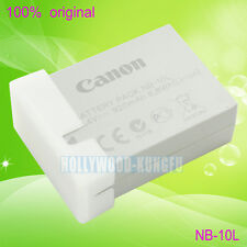 Genuine Original Canon NB-10L NB10L Battery for Canon PowerShot SX50HS IS  G1X