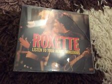 ROXETTE- LISTEN TO YOUR HEART/ DANGEROUS- CD SINGLE