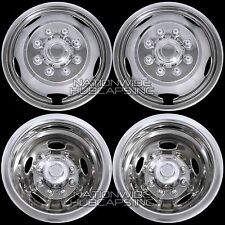 "03-16 DODGE RAM 3500 17"" Dually Steel Wheel Simulators Dual Skins Liners Covers"