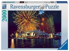 RAVENSBURGER JIGSAW PUZZLE FIREWORKS OVER SYDNEY 2000 PCS #16622