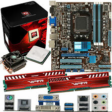 AMD X8 Core FX-8320 3.5Ghz & ASUS M5A78L-M USB3 & 8GB DDR3 1600 Viper Venom Red