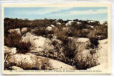 CP 02 AISNE - Sommet du Plateau de Craonne - Ruines Grande Guerre