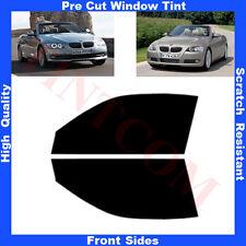 Pellicola Oscurante Vetri Auto Anteriori per BMW E93 Cabrio 2P 06-12 da5%a70%