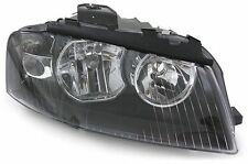 Black clear finish right side headlight front light for Audi A3 8P 03-08