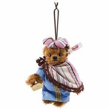 Steiff BALTHASAR WISEMAN TEDDY BEAR ORNAMENT EAN 034077 Mohair 10CM - NEW NRFB