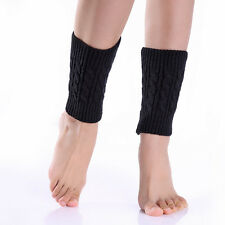 Women Winter Cheap Leg Warmers Crochet Knit Boot Socks Toppers Cuffs Popular