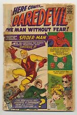 Daredevil #1 (1964) Poor (0.5) Incomplete ~ Origin of Daredevil ~ Lee & Everett