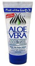 Fruit of the Earth Aloe Vera 100% Gel 6 oz (Pack of 3)