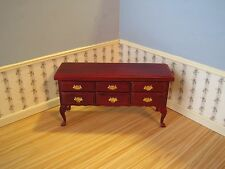 Dollhouse Miniature Furniture ~ Sideboard ~ Buffet in a  Mahogany Finish ~