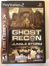 Ghost Recon Island Thunder - Playstation 2 - Replacement Case - No Game