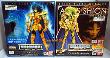 NEW BANDAI SAINT SEIYA MYTH CLOTH EX SEA DRAGON KANON AND ARIES SHION COMBO
