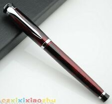 BAOER 508 Magic Red Fountain Pen M Nib Brand New