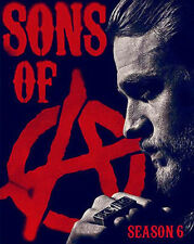 Sons of Anarchy: The Complete Sixth Season 6 (DVD, 2014) Ship from California!!