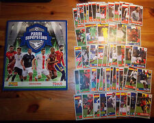 Panini Superstars Tesco Album + Full Complete Set 60 Cards