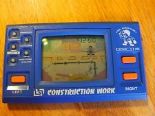 "Lcd game Lsi  "" Construction work "" game watch"