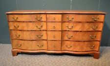 Vintage Old Colony Furniture Inlaid Triple Dresser