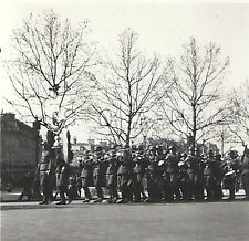 WWII German RP- Soldier- Helmet- Marching Band- Unit Bell Standard- France 1941