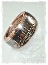 """Come and take it"" Molon Labe Spartan .999 Pure Copper Coin Ring Size 10-16"