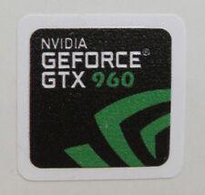 nVidia GEFORCE GTX 960  Sticker Logo Decal for laptop/desktop- Embossed