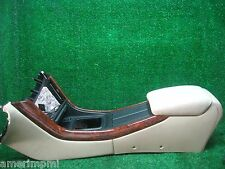 2003 ACURA TL TYPE-S OEM  FLOOR BUCKET SEAT CENTER CONSOLE ARMREST BEIGE TAN
