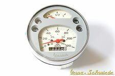 VESPA Original PIAGGIO Tacho - 120 km/h / Ø 105mm - PX Lusso / MY - Tachometer