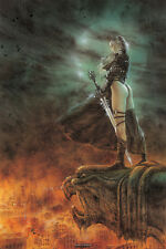 "LUIS ROYO POSTER ""THE HOUR HAS ARRIVED"""
