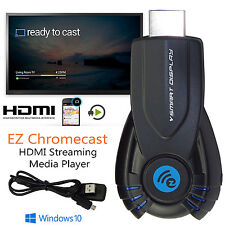 Ezcast WiFi DLNA Chromecast HD Media Streamer HDMI TV Dongle for Netflix/Youtube